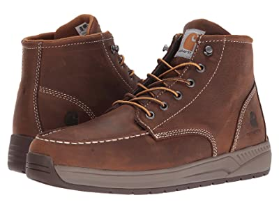 Carhartt 4 Lightweight Wedge Boot (Brown Oil Tanned Leather) Men