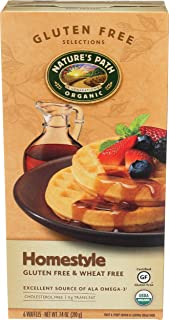 Natures Path Waffles Gluten Free Home-Style, 7.4 oz
