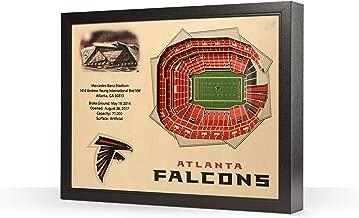"YouTheFan NFL 25-Layer 25.5"" x 19.5"" StadiumViews 3D Wall Art"