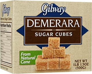 Gilway Demerara Sugar Cubes, 1.5 Ounces