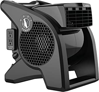 Lasko High Velocity Pro-Performance Pivoting Utility Fan for Cooling, Ventilating, Exhausting and Drying at Home, Job Site...