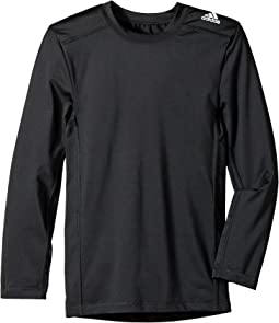 adidas Kids - Long Sleeve Base Layer Top (Big Kids)