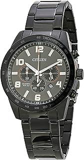 Relógio Analógico, Citizen, Masculino, TZ31454P, Preta