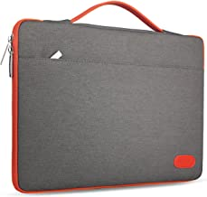 HSEOK 15-15.6 Inch Laptop Case Sleeve, Environmental-Friendly Spill-Resistant Briefcase for 15.4-Inch MacBook Pro 2012 A1286, MacBook Pro Retina 2012-2015 A1398 and Most 15.6-Inch Laptop, Dark Gray