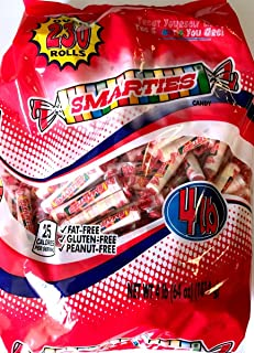 Smarties Candy Rolls, Bulk Pack (4lb--(64oz))