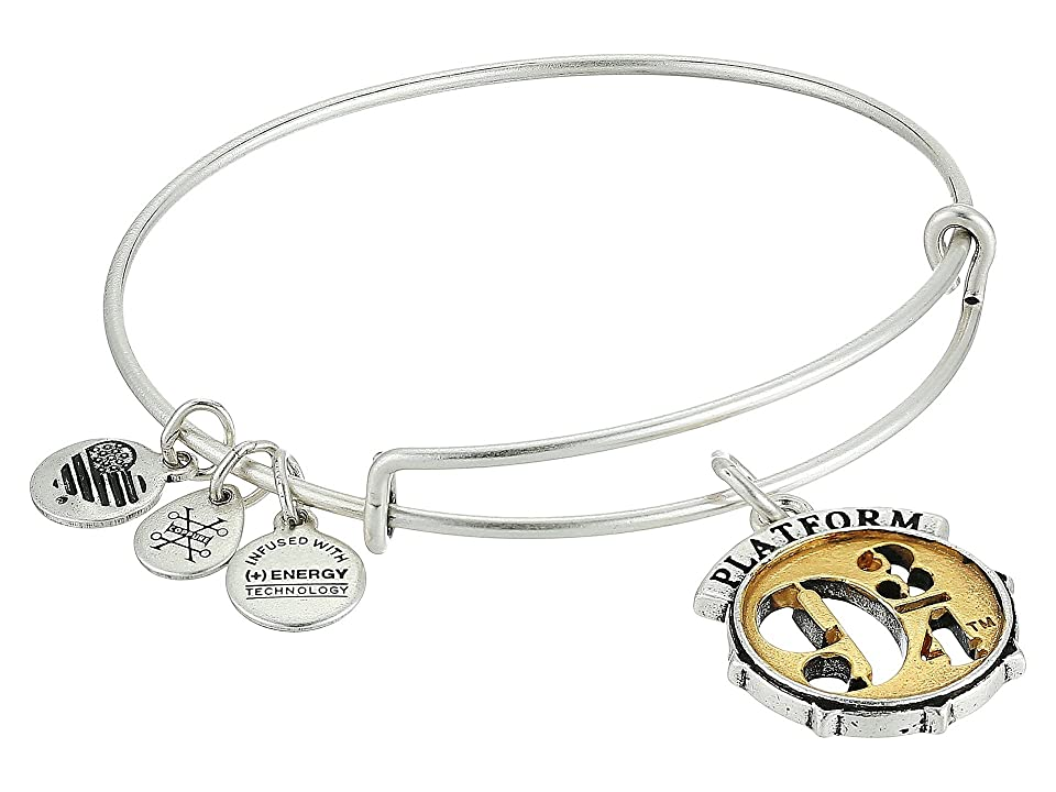 Alex and Ani Harry Potter Platform Bangle (Two-Tone) Bracelet