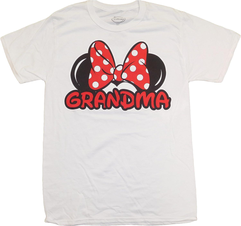Disney Minnie Mouse Women's Grandma T-Shirt