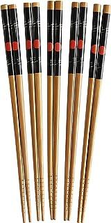 Helen's Asian Kitchen Bamboo Sushi Stix Chopsticks, 5-Pair