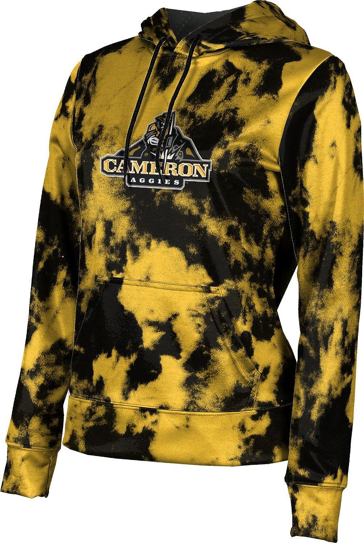 ProSphere Cameron University Girls' Pullover Hoodie, School Spirit Sweatshirt (Grunge)
