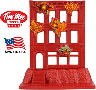 TimMee Brick Building Under Attack - Plastic Army Men Playset Accessory