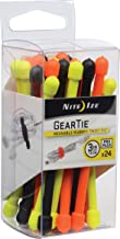 Nite Ize Original Gear Tie, Reusable Rubber Twist Tie, 3-Inch, Assorted Colors, 24 Count Pro Pack, Made in the USA