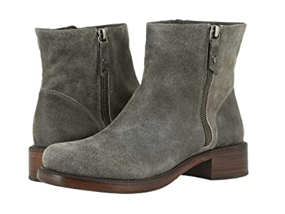 Trask Brylee (Gray Distressed Italian Suede) Women