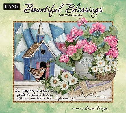 The LANG Companies Bountiful Blessings 2020 Wall Calendar (20991001897)