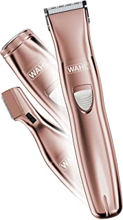Wahl Pure Confidence Rechargeable Electric Waterproof Trimmer, Shaver, Groomer for Women - Model 9865-2901