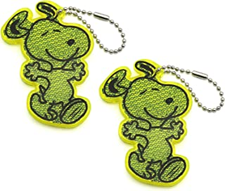 BSK Safety Reflector - Snoopy - Green - 2 - Pack
