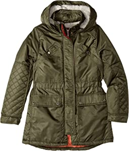 Urban Republic Kids - Poly-Twill Anorak with Quilted Lining (Little Kids/Big Kids)