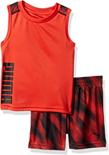 Baby Boys' 2 Piece Muscle Top & Short Set