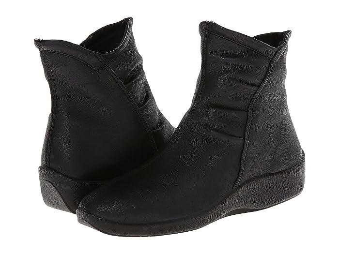 Arcopedico  L19 (Black) Womens Zip Boots