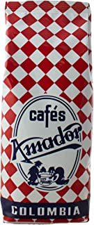 Cafés AMADOR - Café en GRANO Natural Arábica - COLOMBIA (