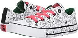 Converse Kids Chuck Taylor All Star Holiday Coloring Book - Ox (Little Kid/Big Kid)