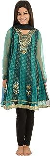 A.J.Amrit Girls' Net Salwar Suit
