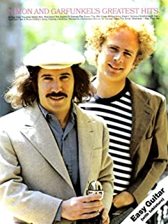 Simon & Garfunkel's Greatest Hits: For Easy Guitar Tab