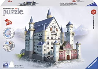 comprar comparacion Ravensburger - 3D Puzzle Building Castillo de Neuschwanstein (12573 9)
