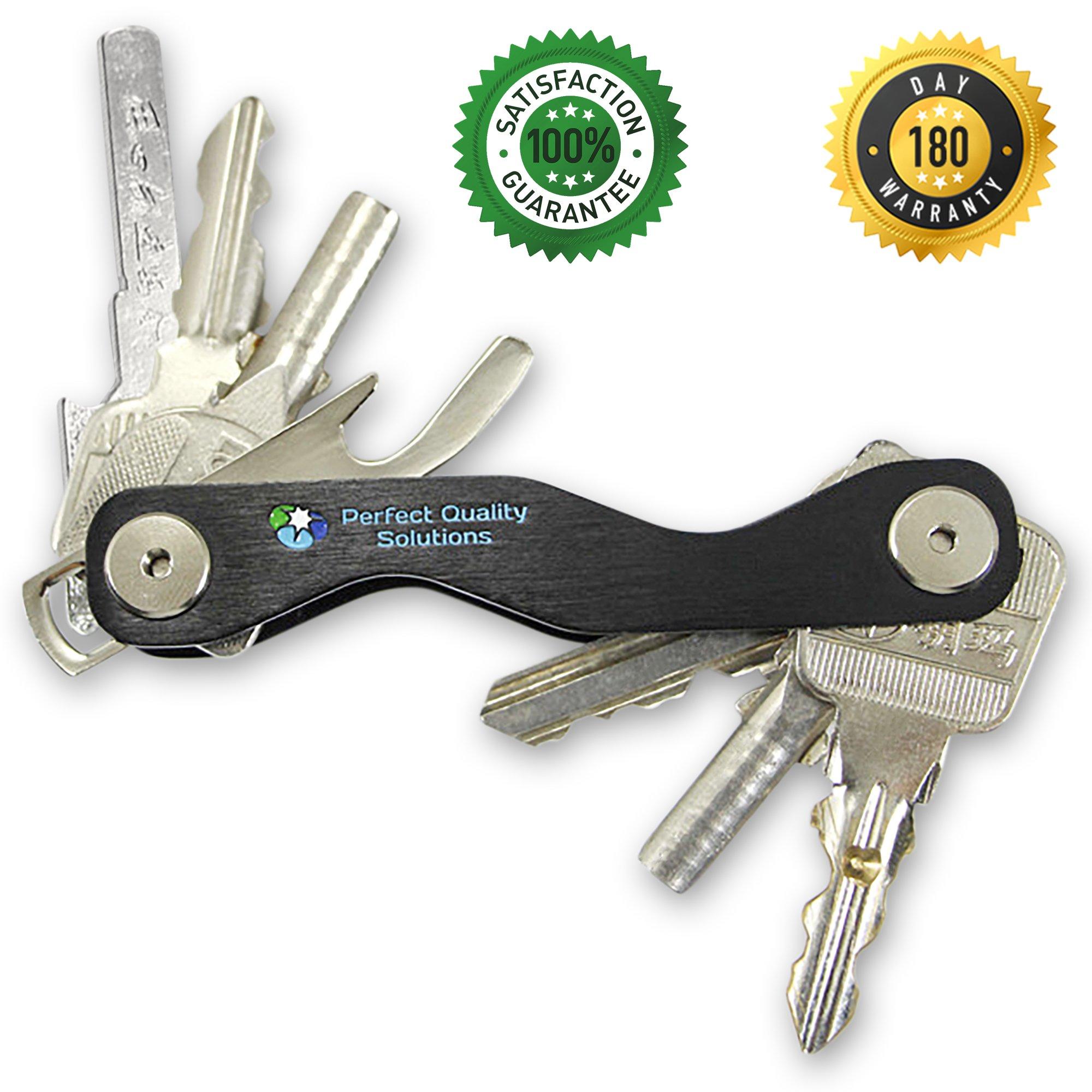 Heavy Duty Car Keychain Key Holder Business Bottle Opener Ring Gift Smart #HA2