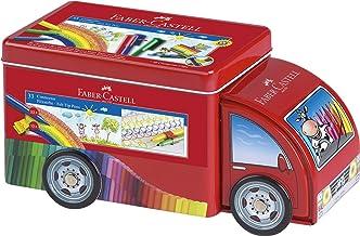 Faber-Castell 55533 - Camión de metal con 33 rotuladores