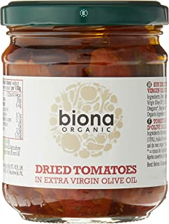 Biona Organic Sun Dried Tomatoes in Extra Virgin Olive Oil, 170g