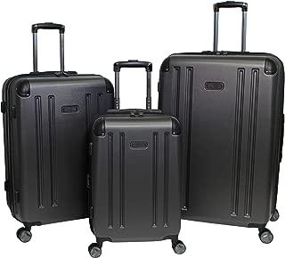 Reaction Hardside 3-Piece Expandable Spinner Luggage Set - Pewter