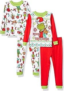 Boys' Toddler 4 Piece Cotton Pajama Set