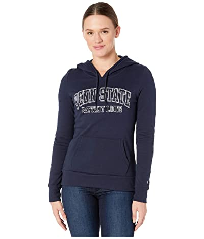Champion College Penn State Nittany Lions Eco University Fleece Hoodie (Navy 3) Women