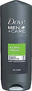 Dove Men+Care  Body Wash, Extra Fresh, 18 oz, 3 Pack