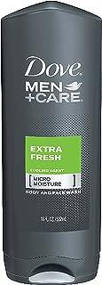 Dove Men +Care Body and Face Wash - Extra Fresh - 18 oz - 2 pk