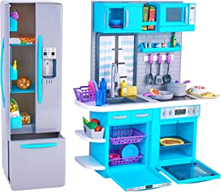 myLife Brand Products My Life As Kitchen Play Set, Multiple Assorted Colored Pieces Ages 5 Up