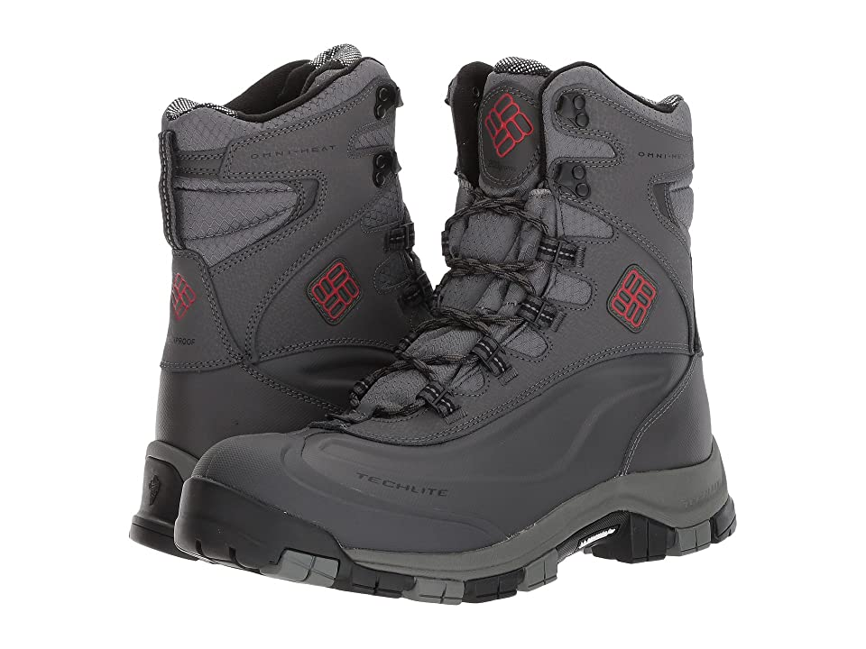 Columbia Bugaboot Plus Omni-Heat Michelin (Charcoal/Bright Red) Men
