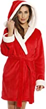 Just Love Critter Holiday Robe Sherpa Trim Velour Robes for Women