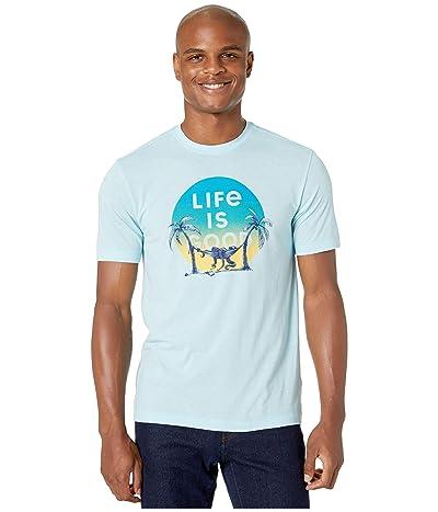 Life is Good Octopus Nap Cool Teetm (Beach Blue) Men