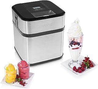 Sorbetière Princess 282605 – Prépare de la crème glacée maison – contenance 1,5 litre