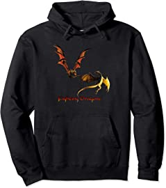 Fighting Dragons Pullover Hoodie