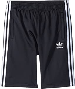 adidas Originals Kids Basketball 3-Stripe Shorts (Big Kids)