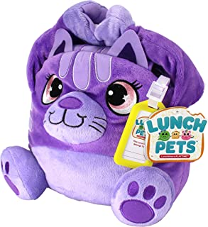 Lunch Pets Insulated Kids Lunch Box – As Seen on TV Plush Animal and Lunch Box Combination - SnackyCat