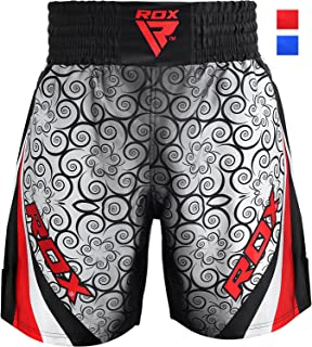 RDX Boxing Fight Shorts MMA Grappling Muay Thai Bottom Trunks Cage Fighting Training Martial Arts Kickboxing