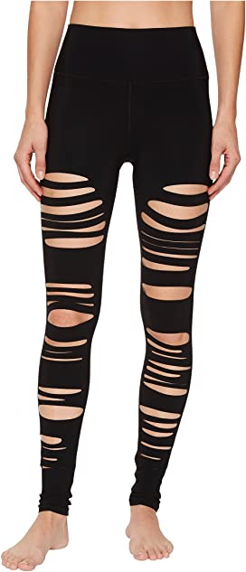 4df3a80833 ALO Ripped Warrior Leggings at Zappos.com