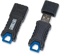 GorillaDrive 64GB Ruggedized USB Flash Drive (2-Pack)