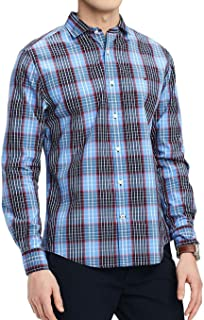 Men's Classic Fit Stewart Plaid Button-Front Shirt