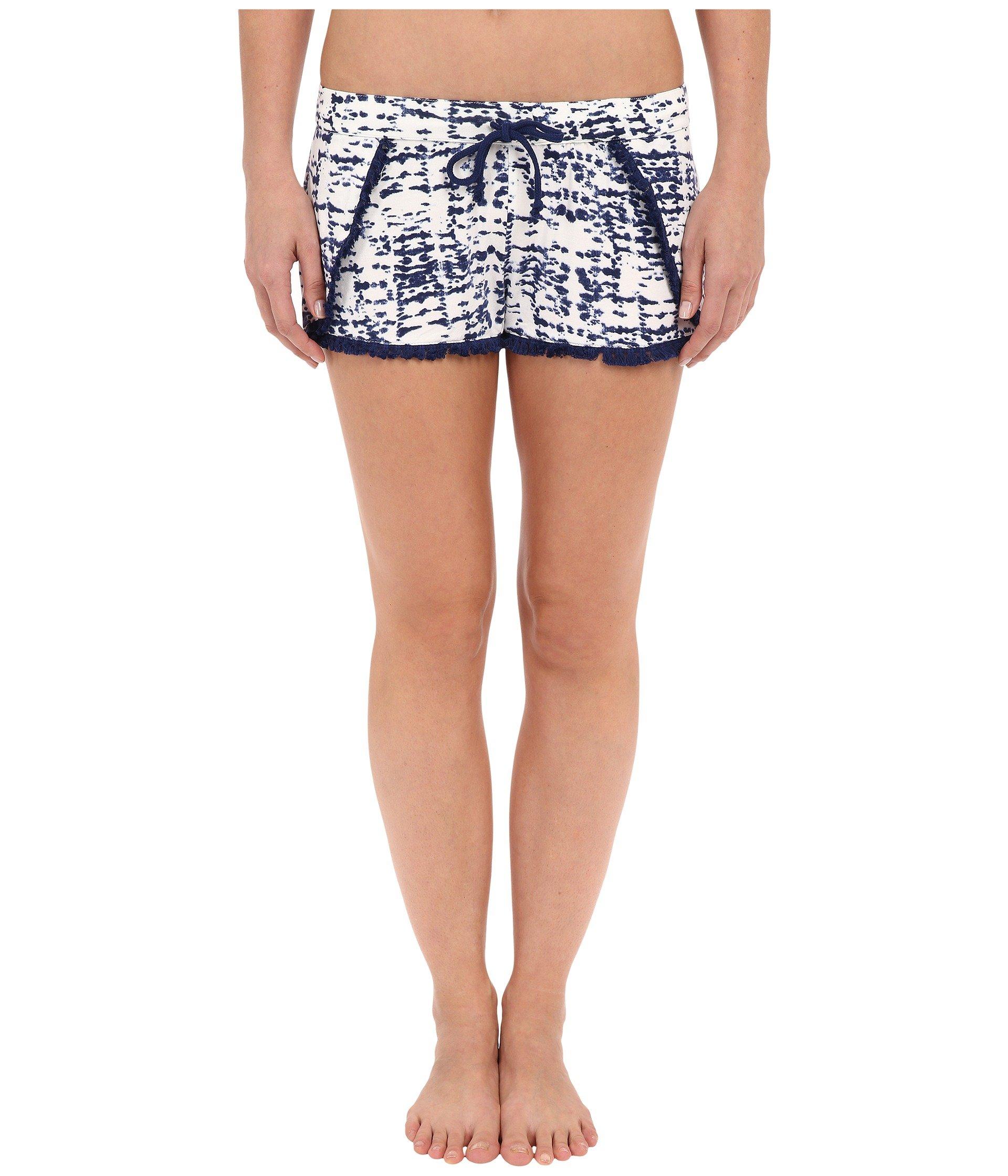 Pantalón de Pijama para Mujer P.J. Salvage Tie-Dye Lace-Trim Short  + P.J. Salvage en VeoyCompro.net