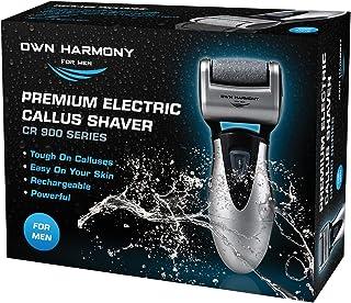 Callus Remover: ابزارهای قابل شارژ الکتریکی قابل شارژ پدیکور برای آقایان توسط خود هارمونی -3 غلطک (تست شده قدرتمند) بهترین پرونده پا ، حرفه ای اسپا الکترونیکی میکرو پدی مراقبت های بهداشتی ایده آل برای پوست سخت شکسته