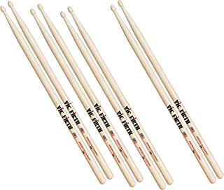 Vic Firth P5A.3-5A.1 American Classic Wood Tip Drumsticks (Pack of 4)